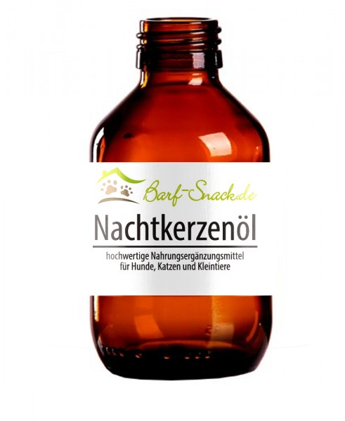BARF Nachtkerzenöl als Nahrungsergänzung beim Barfen