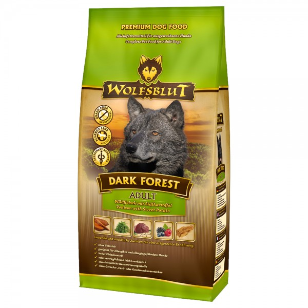 Wolfsblut Dark Forest ADULT 2kg